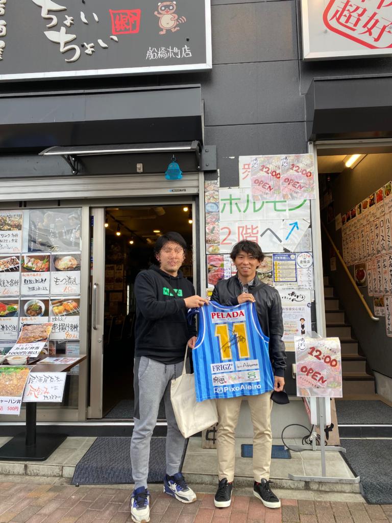 佐藤寿人氏とペラーダジュニアーズ代表