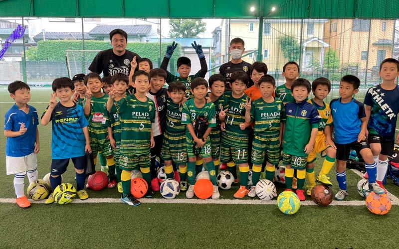 三郷市サッカーチームペラーダジュニア